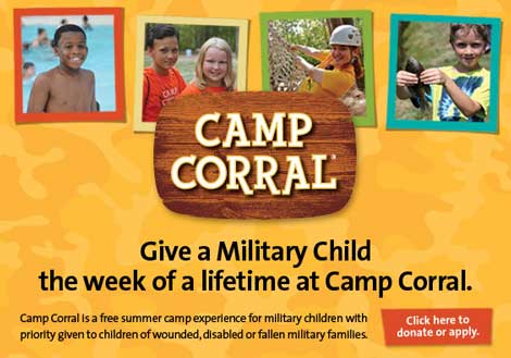 Thank You from Camp Corral!